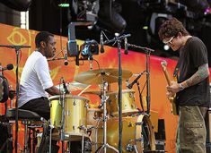 Steve Jordan with John Mayer