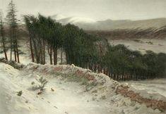 Joseph Farquharson Gallery   Joseph Farquharson, Where Winter Holds its Sway