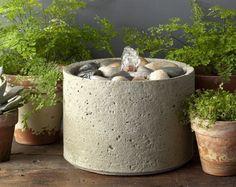 M-Series Pebble Outdoor Garden Fountains