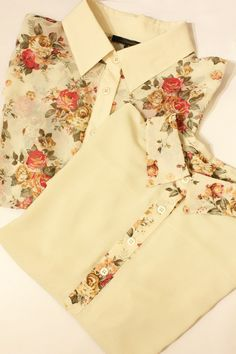I am obsessed with vintage floral prints, especially on clothing.