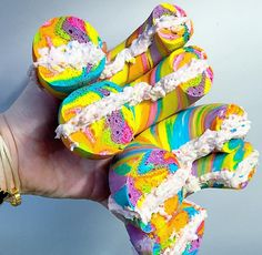 Rainbow Bagels Exist So You Can Eat Your Unicorn-Loving Heart Out