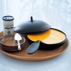 裏ごししたかぼちゃに、しょうが汁とシナモンの香りが加わって濃厚なおいしさ!