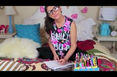 Love his girl! Bethany Mota- beauty guru on Youtube! <3