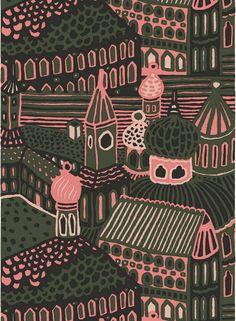 Marimekko fabrics - Buy online from Finnish Design Shop. Discover Unikko and other Marimekko fabrics for a modern home! Marimekko Fabric, Rainbow Aesthetic, Textiles, Bold Prints, Fashion Fabric, Textile Design, Printing On Fabric, Pattern Design, Print Patterns