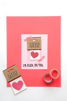 Tattoo Valentine | 14 Awesome Candy-Free Valentines | Oh Happy Day