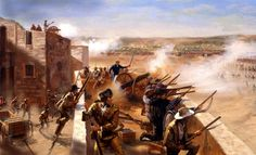 Today In History: After A 13 Day Battle, The Texas Alamo Is Seized By 3000 Mexican Troops (1836)