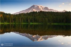 Mt Rainier in Reflection - USA | Flickr - Photo Sharing!