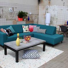 Trendhopper ● Met kussens in verschillende vrolijke kleuren breng je eenvoudig het voorjaar in huis.