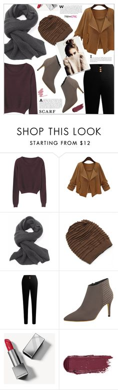 """#scarf#Newchicstyle#winter"" by lovenewchic ❤ liked on Polyvore featuring Burberry"