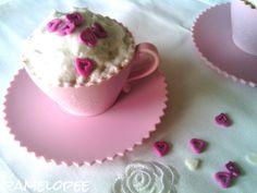 pamelopee: Rosenwasser-Muffins mit süßen Cranberries