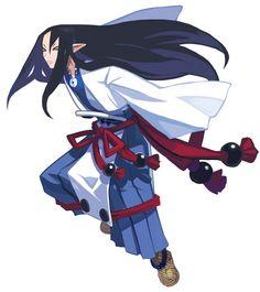 ✧ #characterconcepts ✧ Fubuki - Disgaea 2: Cursed Memories
