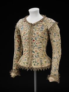 Rare Examples of Extant 17th Century Clothing: The Margaret Layton Jacket, circa 1600-1620