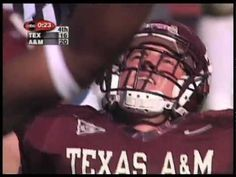 A & M vs Texas 1999 after Bonfire collaspe: After all these years this still makes me cry. My Aggie family is amazing. Gig 'Em.
