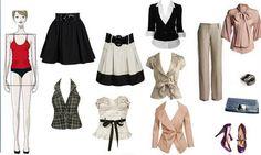 roupas para corpo retangulo - Pesquisa Google