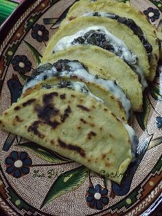 Quesadillas de Huitlacoche-Corn Truffle Quesadillas #huitlacoche #lupitasbrand
