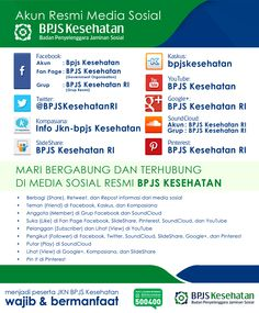 Akun Resmi Media Sosial BPJS Kesehatan