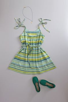 italian stripe dress by flora and henri