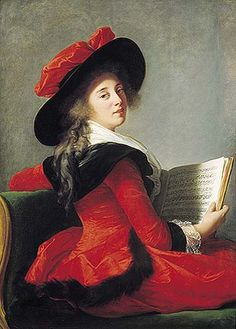 Madame La Baronne de Crussol 1785.