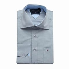 Tommy Hilfiger Long Sleeve Dress Shirts grey green Free Shipping Long Sleeve Shirt Dress, Dress Shirts, Tommy Hilfiger Shirts, Green And Grey, Dresses With Sleeves, Free Shipping, Mens Tops, Fashion, Moda