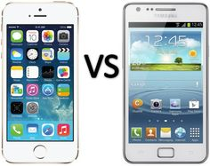 Compare Apple iPhone 5s vs Samsung Galaxy S II Plus