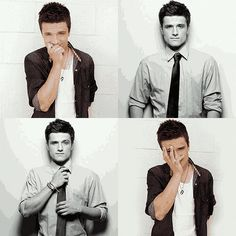josh hutcherson has turned into man candy. oh my goodness.