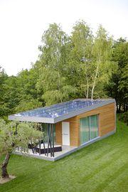 The Green_Zero is a eco-friendly modular cabin designed by Daniele Menichini. I dig it.