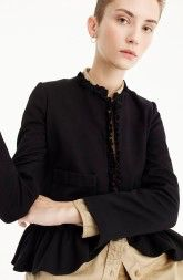 J. CREW J.Crew The Going Out Blazer with Ruffles available at #Nordstrom