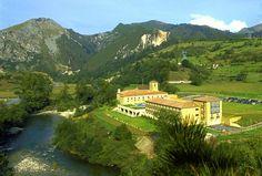 The four-star Parador de Cangas de Onís in Asturias was once a medieval monastery