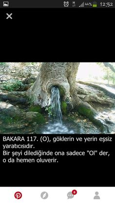 #ayetler #hadisler - corek-otu-yagi.com Turkish Language, Hadith, Quran, Prayers, Nature, Landscape, Truths, Naturaleza, Prayer