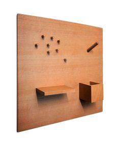 SmorgasBoard is a wooden magnetic bulletin board