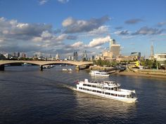 London basking in the late afternoon sun.