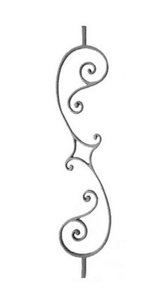Decorative Iron is the leading source for cast and forged ornamental and decorative iron including iron finials, iron balusters, posts, pick...