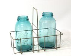 Vintage Wire Bottle Holder,