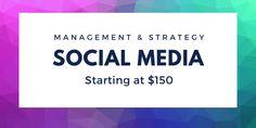 Social Media Strategy & Management