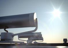 Solar Tracking Fiber-Optic Light Collector  - 'Parans Solar Skylighting System' // Wasco Skylights
