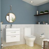Get an exclusive and modern toilet sets and basins accessories to design the suits in UK market. Similarly, the guarantee for artefact would also be offered. Buy now! Small Bathroom Suites, Cloakroom Suites, Royal Bathroom, Close Coupled Toilets, Basin Unit, Modern Toilet, Wall Hung Vanity