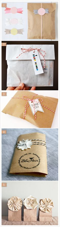 Brown Paper Bag Packaging
