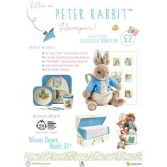 I can finally start to post some work from work... and obviously this has expired but here is a poster i designed for charity for work :) #beatrixpotter #peterrabbit #plushie #art #graphicdesigner #graphicdesign