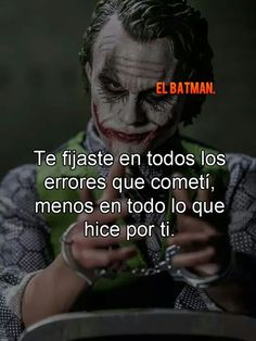 Siempre lo mismo Joker Frases, Joker Quotes, Gangster Quotes, Wisdom Quotes, Life Quotes, Rock Argentino, The Ugly Truth, Joker And Harley, Harley Quinn