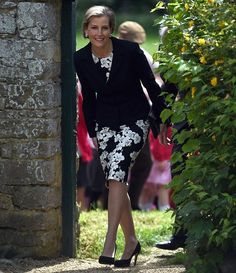 Sophie, Countess of Wessex visits Cogges Manor Farm In Witney