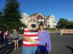 Donna Dalton with Champ from Monroe Carell Jr Children's Hospital at Vanderbilt #westhaventn
