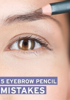 Eyebrow shaping can be tricky! These beauty tips will help you avoid eyebrow pencil mistakes.