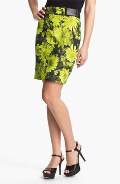 MICHAEL Michael Kors Floral Pencil Skirt available at #Nordstrom