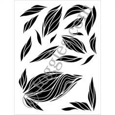 """Joggles Stencils New Buds 9""""x12"""""""