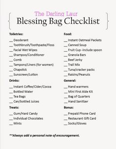 Blessing bags are plastic bags filled with items to hand out to the homeless… Homeless Bags, Homeless Care Package, Blessing Bags, Service Projects, Service Ideas, People In Need, Hobo Handbags, Hobo Purses, Helping The Homeless