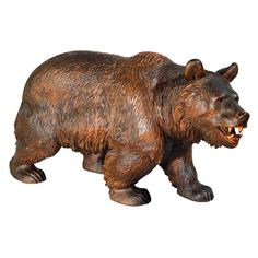 A Black Forest Carved Bear