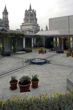 The Ismaili Centre Roof Garden