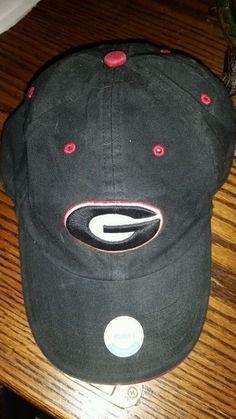 UGA Hat University Of Georgia Bulldogs Blue Snapback Cap Womens Adjustable #TwinsEnterprisesInc #GeorgiaBulldogs