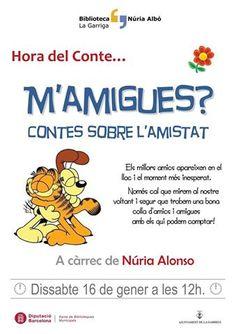 Hora del Conte Biblioteca Núria Albó de #laGarriga www.lagarriga.cat