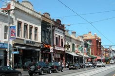 Brunswick street, Melbourne, linked to Great Ocean Road  Pictures, Australia